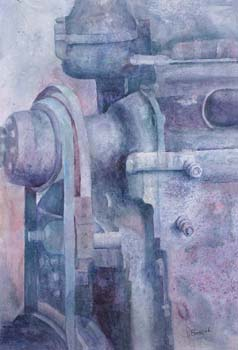 Abstract of mechanical equipment.