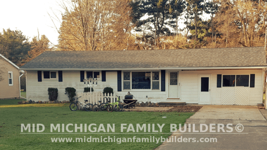 MId Michigan Family Builders Driveway & Siding Project 04 26 18 02