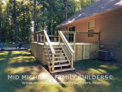 Mid MIchigan Family Builders Deck Project 07 03 2018 01