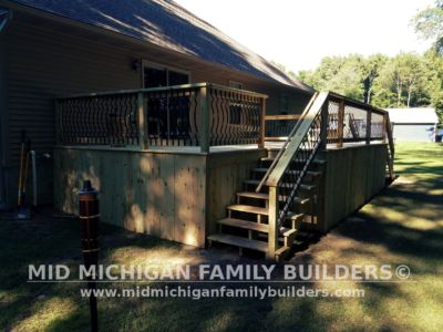 Mid MIchigan Family Builders Deck Project 07 03 2018 02