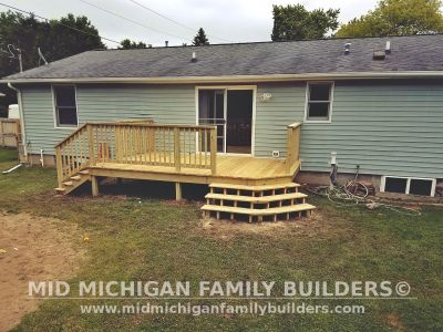 Mid Michiagn Family Builders Deck Project 07 2019 01 01