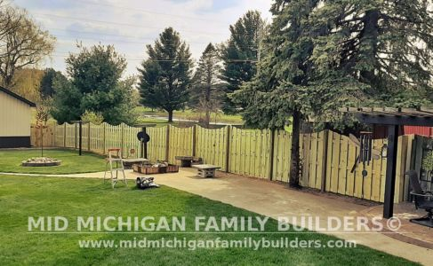 Mid Michigan Family Builder Fence Project 04 2021 07 01