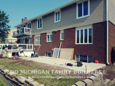 Mid Michigan Family Builders Aluminium Fence Project 07 13 2018 01