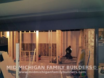Mid Michigan Family Builders Basement Project 01 2018 01 07
