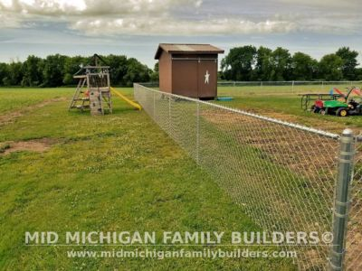 Mid Michigan Family Builders Chain Link Fence Project 07 2020 01 01