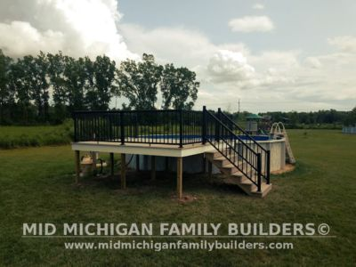 Mid Michigan Family Builders Composite Deck With Metal Railings 08 01 2018 02
