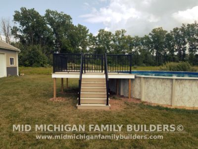 Mid Michigan Family Builders Composite Deck With Metal Railings 08 01 2018 04