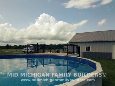 Mid Michigan Family Builders Composite Deck With Metal Railings 08 01 2018 05