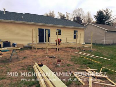 Mid Michigan Family Builders Deck Project 05 16 2018 02