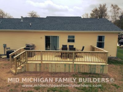 Mid Michigan Family Builders Deck Project 05 16 2018 04