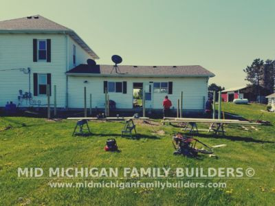 Mid Michigan Family Builders Deck Project 05 21 2018 01