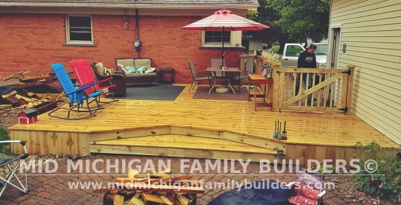 Mid Michigan Family Builders Deck Project 06 2019 02 02