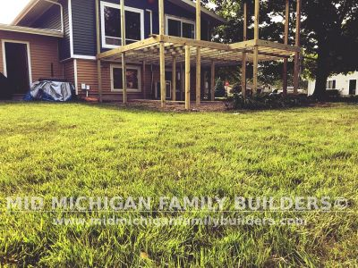 Mid Michigan Family Builders Deck Project 06 2019 03 04
