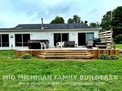 Mid Michigan Family Builders Deck Project 07 2021 02 02