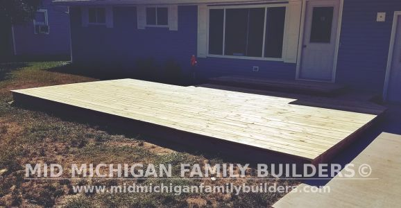 Mid Michigan Family Builders Deck Project 08 2019 03 03