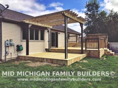 Mid Michigan Family Builders Deck Project 09 2020 02 01
