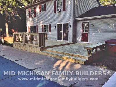 Mid Michigan Family Builders Deck Project 09 2020 03 02