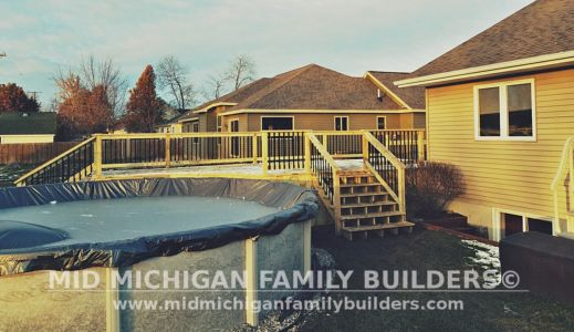 Mid Michigan Family Builders Deck Project 11 2018 02 03