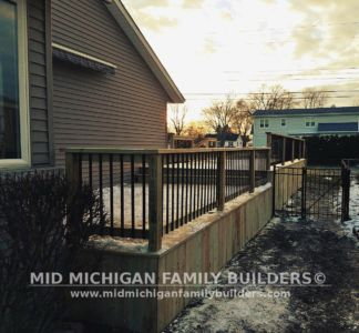 Mid Michigan Family Builders Deck Project 11 2018 02 06