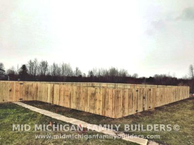 Mid Michigan Family Builders Fence Project 04 2020 01 01
