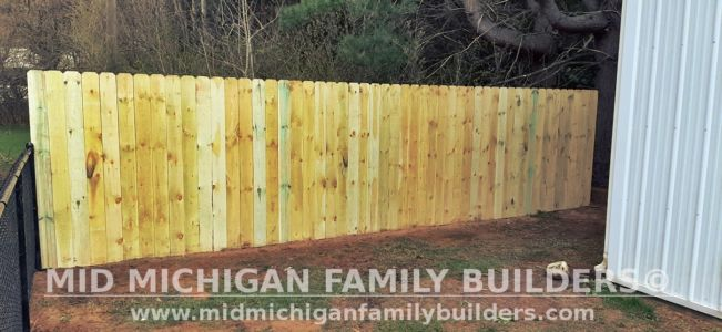 Mid Michigan Family Builders Fence Project 04 2021 06 08