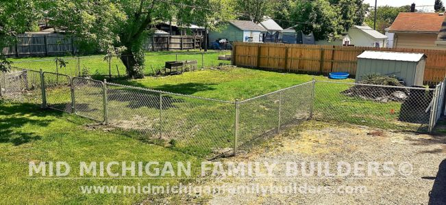 Mid Michigan Family Builders Fence Project 05 2021 03 02