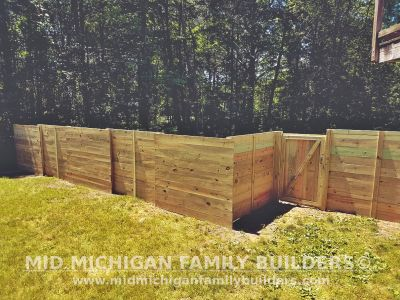Mid Michigan Family Builders Fence Project 06 2019 02 06