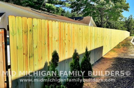 Mid Michigan Family Builders Fence Project 06 2021 06 06