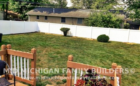 Mid Michigan Family Builders Fence Project 06 2021 09 02