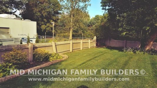 Mid Michigan Family Builders Fence Project 09 2019 01 01