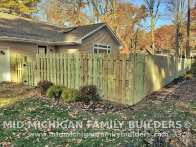 Mid Michigan Family Builders Fence Project 10 2020 03 03