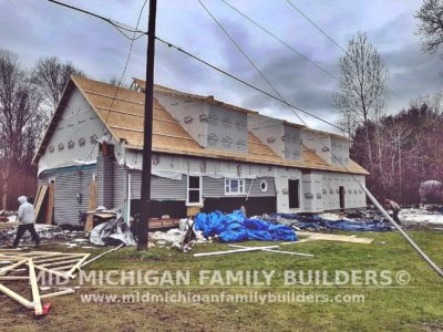 Mid Michigan Family Builders Home Addition Framing 02 2020 01 07