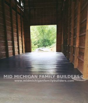 Mid Michigan Family Builders Huge Barn Project 10 2018 15