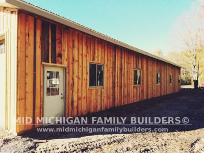Mid Michigan Family Builders Huge Barn Project 10 2018 17