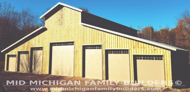 Mid Michigan Family Builders Huge Barn Project 10 2018 20