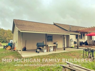 Mid Michigan Family Builders Lean To Project New 10 2021 01 07