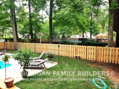 Mid Michigan Family Builders New Fence Project 07 2021 04 01