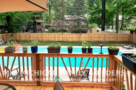 Mid Michigan Family Builders New Fence Project 07 2021 04 02