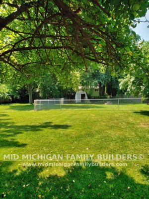 Mid Michigan Family Builders New Fence Project 08 2021 03 02