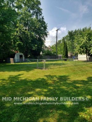 Mid Michigan Family Builders New Fence Project 08 2021 03 03