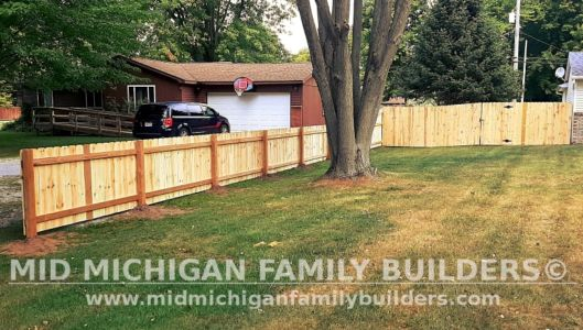 Mid Michigan Family Builders New Fence Project 09 2021 01 04