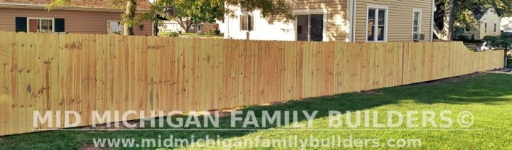 Mid Michigan Family Builders New Fence Project 09 2021 04 03