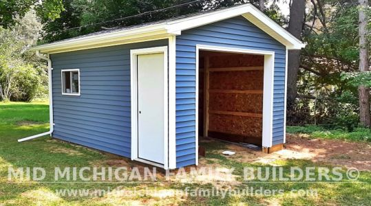 Mid Michigan Family Builders New Shed Project 08 2021 01
