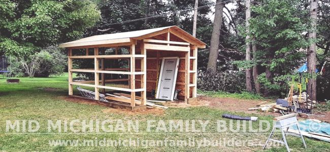 Mid Michigan Family Builders New Shed Project 08 2021 03