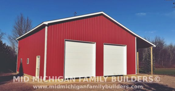 Mid Michigan Family Builders Pole Barn Project 11 2019 01 02
