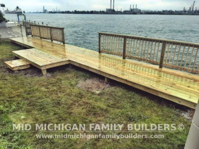 Mid Michigan Family Builders Seawall Deck Project 07 2020 02 03