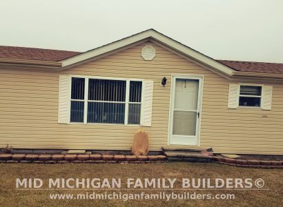 Mid Michigan Family Builders Siding Front Porch Roof Garage Project 06 2019 01 03