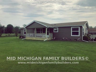 Mid Michigan Family Builders Siding Front Porch Roof Garage Project 06 2019 01 05