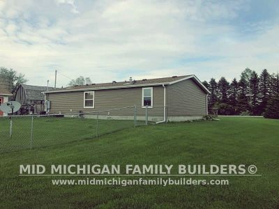 Mid Michigan Family Builders Siding Front Porch Roof Garage Project 06 2019 01 10