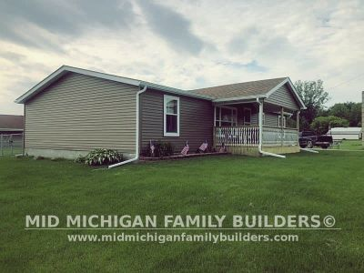 Mid Michigan Family Builders Siding Front Porch Roof Garage Project 06 2019 01 11